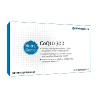 NutraGems CoQ10 300 by Metagenics 30 Chewables