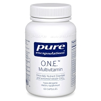 O.N.E. Multivitamin by Pure Encapsulations - 60 Capsules