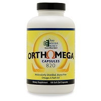 Orthomega  820 by Ortho Molecular Products 60, 120 or 180 capsules