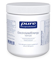 Electrolyte Energy Formula by Pure Encapsulations 20 servings 340g