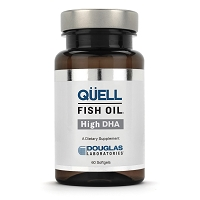 Quell Fish Oil Ultra DHA by Douglas Labs - 60 Soft Gels