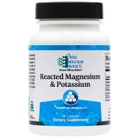 Reacted Magnesium & Potassium by Ortho Molecular Products 60 CT
