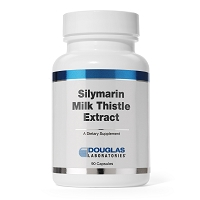 Silymarin Milk Thistle Extract by Douglas Labs 90 Capsules
