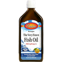 The Very Finest Fish Oil - Orange - Carlson Labs - 500ml