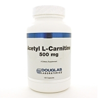 Acetyl L-Carnitine 500mg by Douglas Labs 120 Capsules