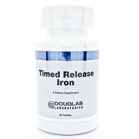 Timed Release Iron  by Douglas Labs 90 Tablets