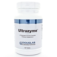 Ultrazyme by Douglas Labs 60 or 180 Tablets