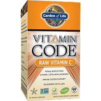 Vitamin Code Raw Vitamin C by Garden of Life - 60 Capsules