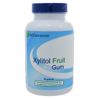 Xylitol Fruit Gum by Nutra BioGenesis 90 Pieces