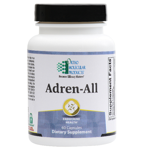 Adren-All by Ortho Molecular Products 60 or 120 Capsules
