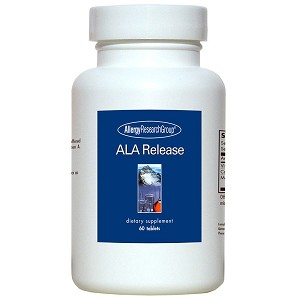 Ala Release (Sustained-Released Lipoic Complex) by Allergy Research Group - 60 tablets