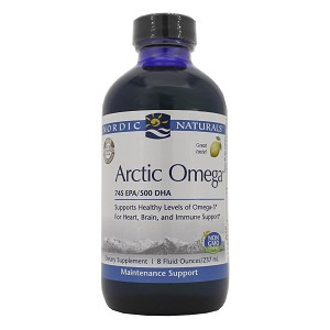 Arctic Omega (Liquid) - Lemon by Nordic Naturals - 8 fl. oz.