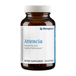 Attencia by Metagenics 60 Softgels
