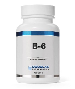 B-6 100 mg by Douglas Labs  250 Tablets