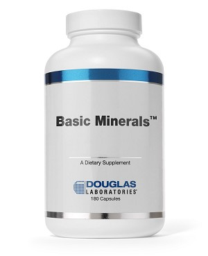 Basic Minerals by Douglas Labs - 180 Capsules