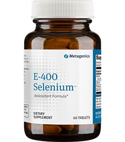 E-400 Selenium by Metagenics 60 or 180 Tablets
