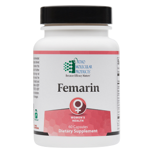 Femarin by Ortho Molecular Products 60 Capsules