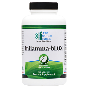 Inflamma-bLOX by Ortho Molecular Products 90 or 180 Capsules
