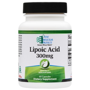 Lipoic Acid 300 MG by Ortho Molecular Products 60 CT