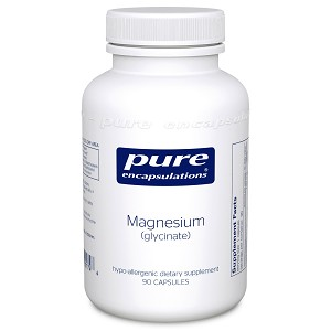 Magnesium (glycinate) by Pure Encapsulations 90, 180 or 360 Capsules