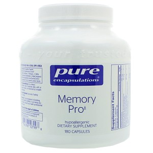 Memory Pro by Pure Encapsulations 180 Capsules