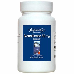 Nattokinase 50 mg by Allergy Research Group - 90 vegetarian capsules