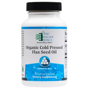 Flax Seed Oil by Ortho Molecular Products 90 Gelcaps
