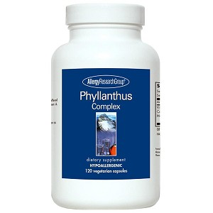 Phyllanthus Complex by Allergy Research Group - 120 vegetarian capsules