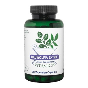 Rauwolfia Extra by Vitanica - 90 or 180 Capsules
