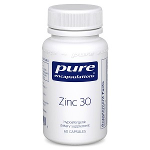 Zinc 30 by Pure Encapsulations - 60 Capsules