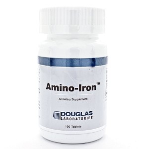 Amino-Iron by Douglas Labs 100 Tablets