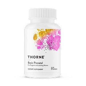 Basic Prenatal by Thorne 90 Capsules