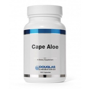 Cape Aloe 250mg by Douglas Labs - 100 Capsules