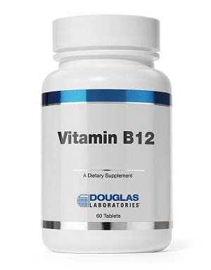 Vitamin B12  by Douglas Labs  60 Tablets (sublingual)