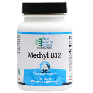 Methyl B-12 by Ortho Molecular Products 60 CT