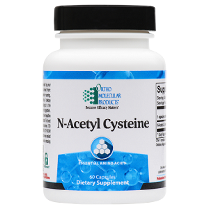 N-Acetyl Cysteine by Ortho Molecular Products 60 CT