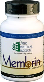 Membrin by Ortho Molecular Products 30 CT