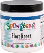 FloraBoost by Ortho Molecular Products 30 SVG Powder