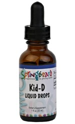 Kid-D Liquid Drops by Ortho Molecular Products 1 OZ