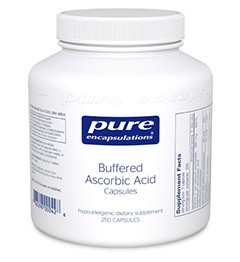 Buffered Ascorbic Acid by Pure Encapsulations 90 or 250 Capsules