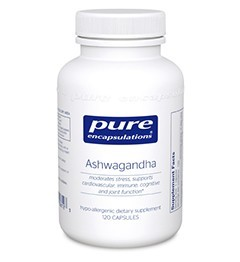 Ashwagandha by Pure Encapsulations - 60 or 120 Capsules