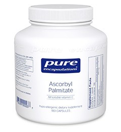 Ascorbyl Palmitate by Pure Encapsulations 180 Capsules