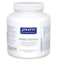 Athletic Nutrients by Pure Encapsulations 180 Capsules