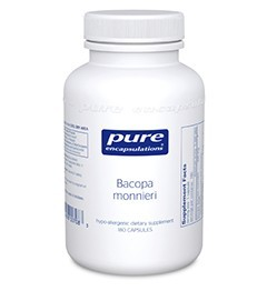Bacopa monniera by Pure Encapsulations 180 Capsules