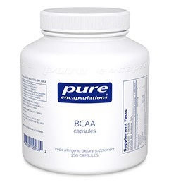 BCAA Capsules by Pure Encapsulations 250 Capsules