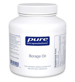 Borage Oil by Pure Encapsulations 60 Soft Gels