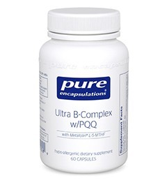 Ultra B-Complex w/ PQQ by Pure Encapsulations 60 Capsules