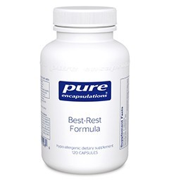 Best-Rest Formula by Pure Encapsulations 60 Capsules