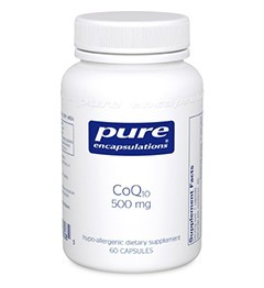 CoQ10 60mg by Pure Encapsulations 60 Capsules