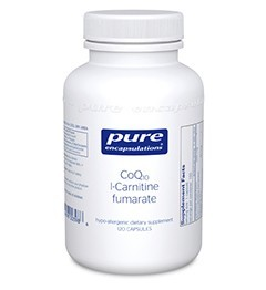 CoQ10 l-Carnitine Fumarate by Pure Encapsulations 120 Capsules